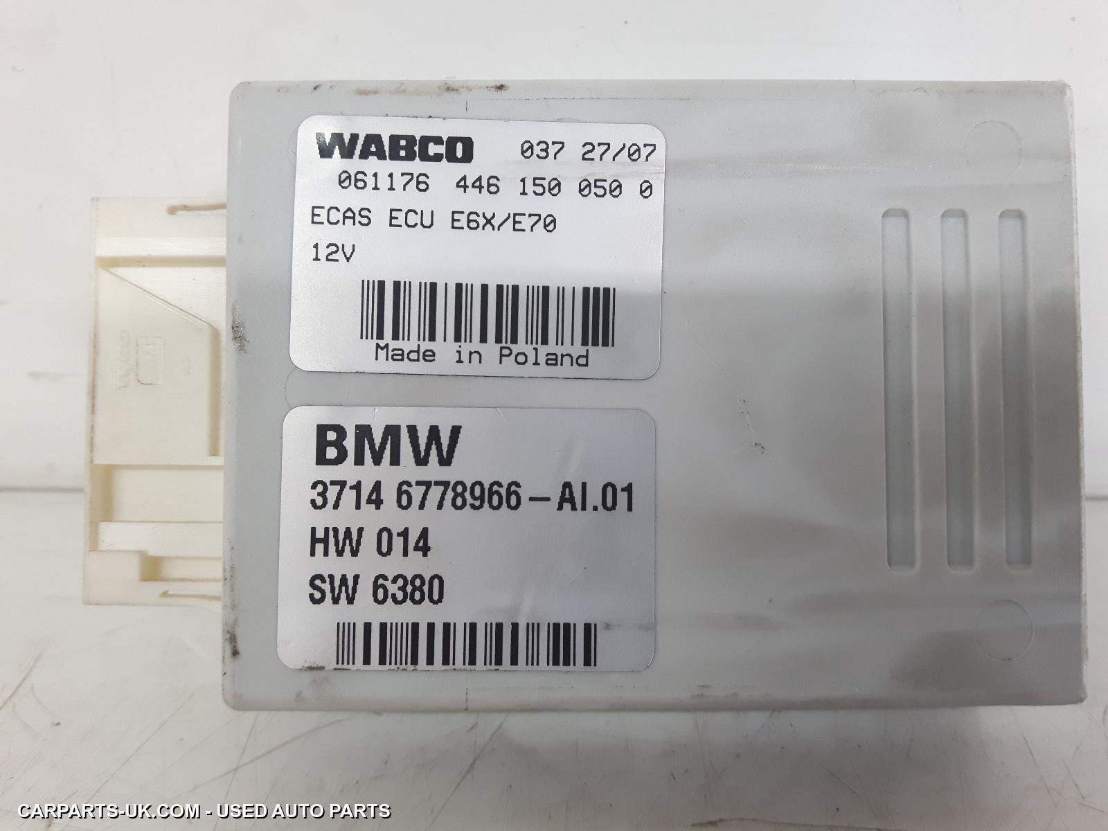 ECU 2007 BMW X5