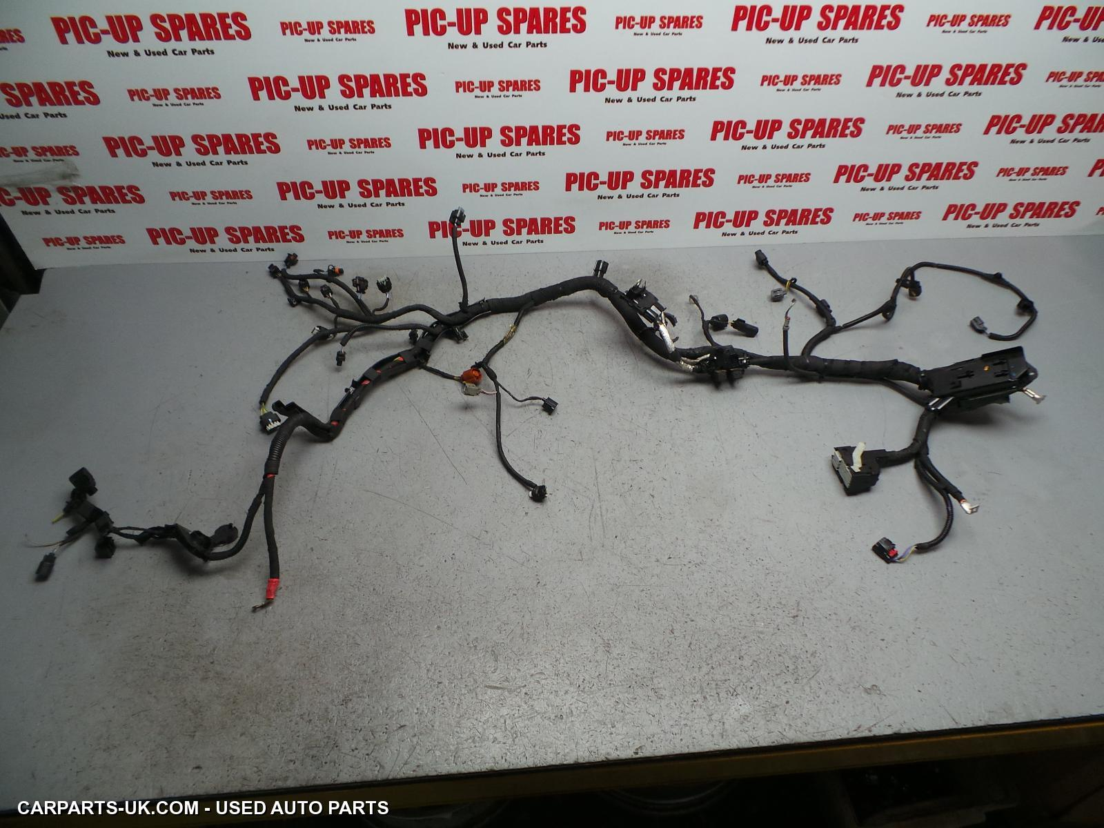 Wiring Harness 2015 Ford Fiesta Parts Mk8 10 Petrol Engine And Gearbox With Air Conesptraction Control Stop Start 13 15